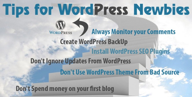 wordpress tips for newbie